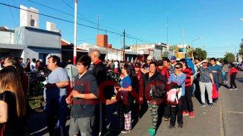 La previa de Patronato-Boca: Los hinchas optimistas en el ingreso a la cancha