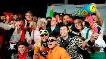 Miles de personas disfrutaron de la Fiesta de Disfraces