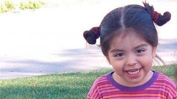 Intensa búsqueda de niña de casi tres años desaparecida en fiesta de cumpleaños