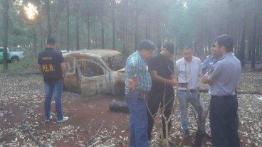 Buscan a concordienses: Camioneta habría sido incendiada hace más de dos semanas