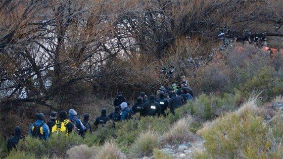 El cuerpo hallado en rastrillaje por Maldonado estaba