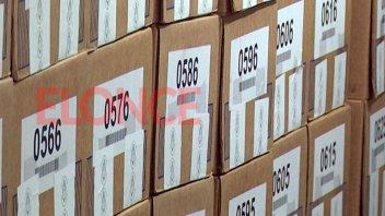 Elecciones legislativas: el jueves comienza la distribución de urnas