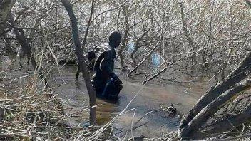 Rastrillaje por Santiago Maldonado: Hallaron un cuerpo en el río Chubut