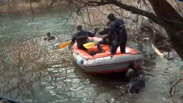 Cuerpo hallado en el río Chubut: