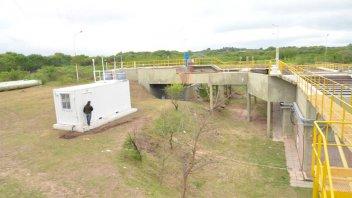 Desde la Toma Nueva controlarán la calidad de agua de la cuenca del Plata