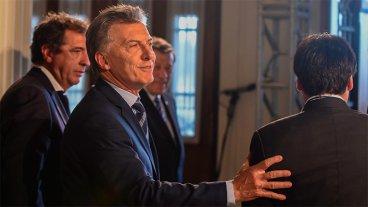 Macri: El país está transitando