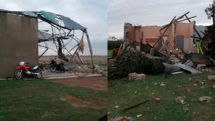 Impactantes imágenes tras tornado en Córdoba: