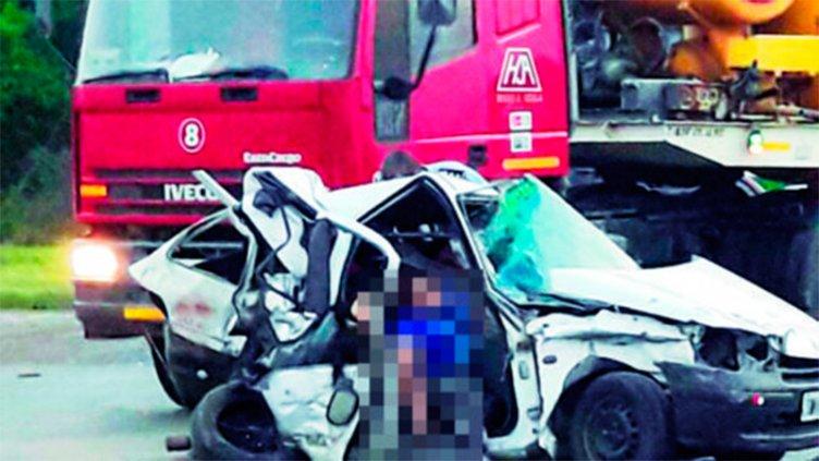 Una madre y sus dos hijas menores perdieron la vida tras un choque múltiple