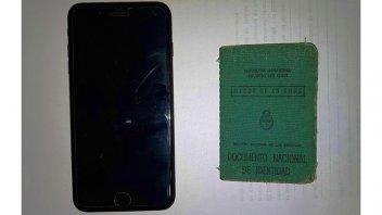 Recuperaron un celular de última generación ofrecido a la venta en Facebook