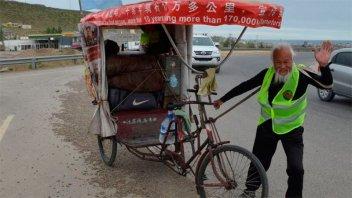 El raidista chino que recorría el mundo murió atropellado en una ruta argentina