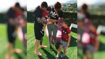 Messi y Antonela ya saben el sexo del bebé