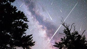 Esta noche se podrá ver la lluvia de estrellas