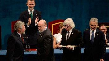 El grupo Les Luthiers recibió el premio Princesa de Asturias en España
