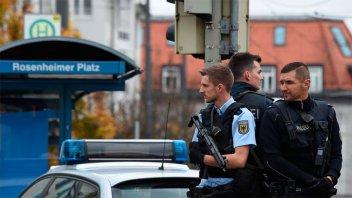 Ocho heridos en un ataque con cuchillo en Múnich: el agresor fue detenido