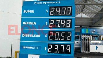 La suba de los combustibles llegó a Paraná: Los nuevos precios