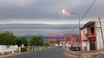 Alerta por vientos de hasta 70 Km/h y aviso de tormenta para el sur provincial