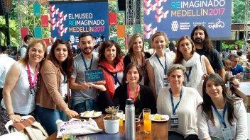 Becadas por la Fundación Banco Entre Ríos participan de un encuentro en Colombia