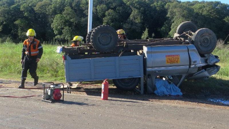 Impresionantes imágenes del fatal accidente