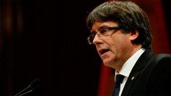 Para Puigdemont, la independencia de Cataluña no es la única solución