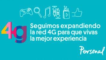 La cobertura 4G de Personal alcanzó a más de mil localidades de todo el país