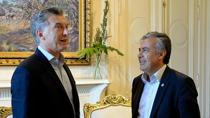 Macri con Cornejo.