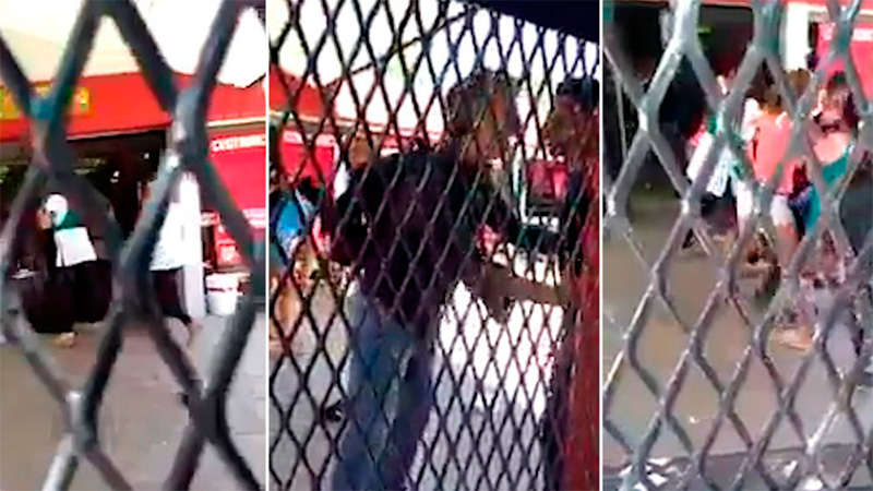 Padres agreden a la portera que retó a su hijo.
