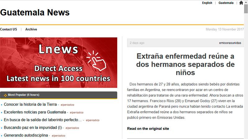(Noticias de Guatemala).-