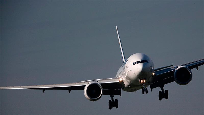Un Boeing 777 en Francia.