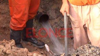 Reparan caño maestro y una zona de Paraná permanecerá sin agua