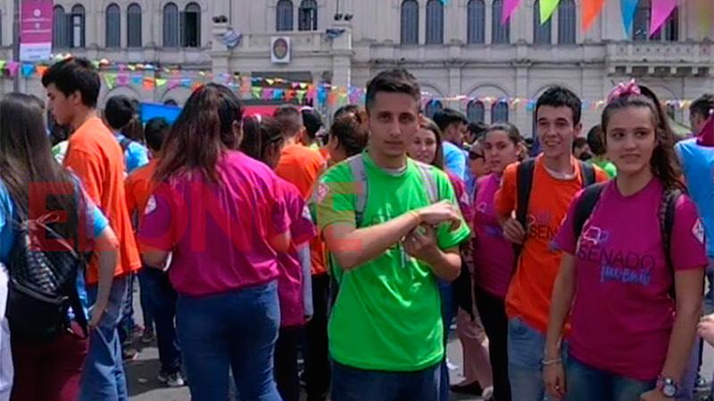 El Senado Juvenil Cumple 25 Anos Y Lo Celebro En Plaza Mansilla