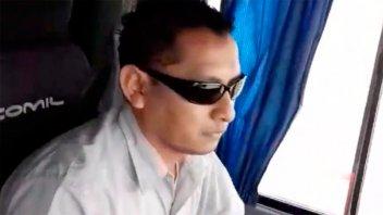 Despidieron y retiraron licencia del colectivero filmado por madre de la víctima