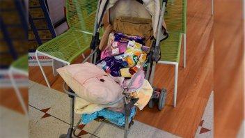 Detuvieron a adolescente que usaba un cochecito de bebé para robar