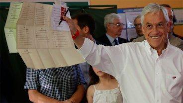 Piñera se imponía en las elecciones de Chile pero iría a balotaje