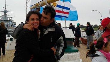 Búsqueda del submarino: Angustiante espera de la esposa del teniente entrerriano