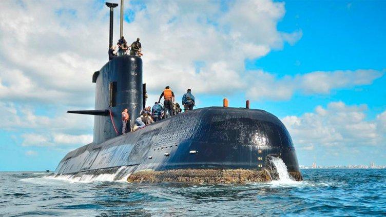 La búsqueda del submarino