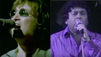 ¿John Lennon y Los Palmeras juntos?: El video hace furor en las redes