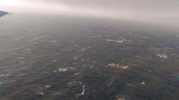 El submarino reportó avería en el último aviso: Video y fotos de la búsqueda