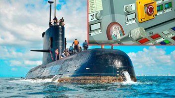 La imagen de la Virgen de Schoenstatt en el submarino: