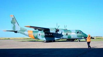 Búsqueda del ARA San Juan: avión brasileño voló casi 25.000 km en un día