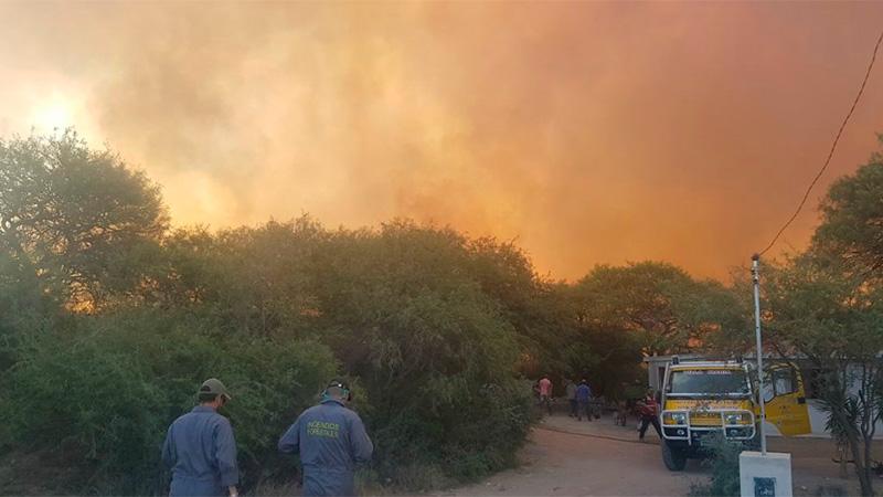 Más de 10.000 hectáreas quemadas y dos detenidos en Córdoba
