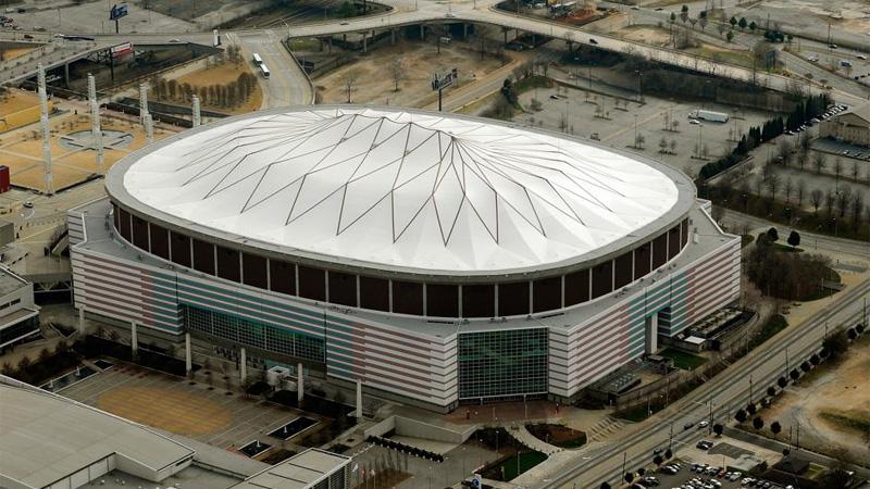 Así lucía en Georgia Dome