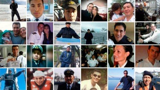 Decretaron tres días de duelo en homenaje a los 44 tripulantes del ARA San Juan