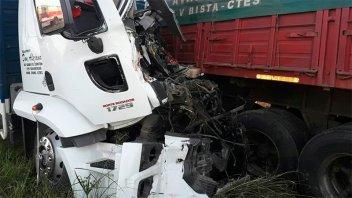 Un muerto y dos heridos a raíz de un choque múltiple en ruta 12