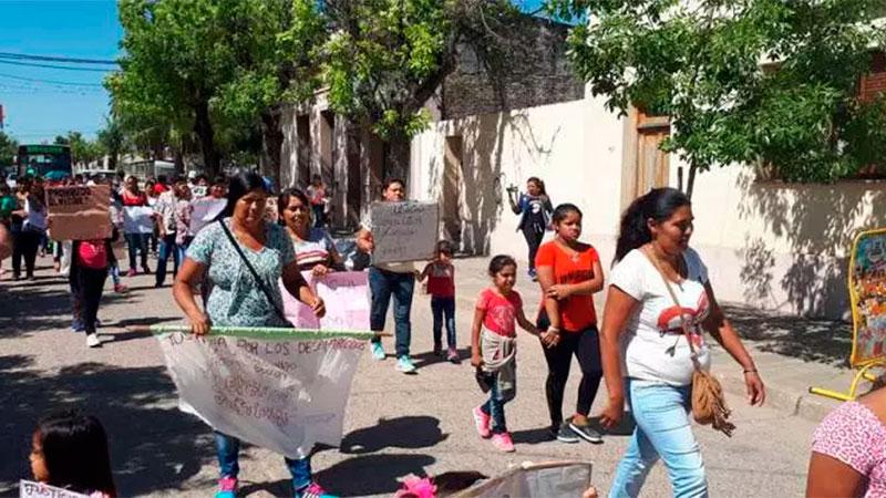 Nueva marcha de los familiares de los pescadores desaparecidos en La Paz
