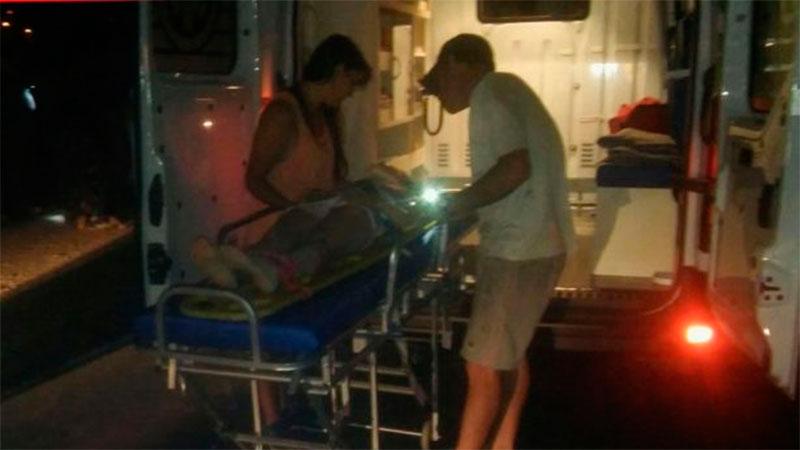 Madre e hija fueron hospitalizadas tras ser embestidas por conductor ebrio