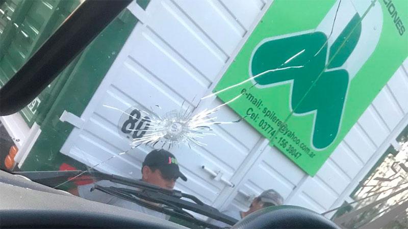 """Camionero entrerriano fue víctima de """"piratas del asfalto"""""""