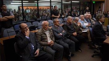 Centros clandestinos Atlético-Banco-Olimpo: Prisión perpetua para dos represores