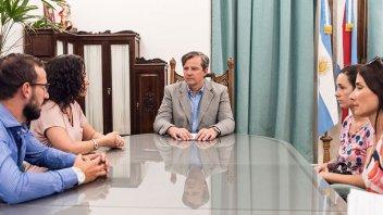 Bahl se reunió con proteccionistas por la problemática de la tracción a sangre