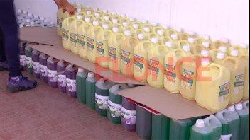 Comercio solidario dijo Sí a Once por Todos y sumó productos de limpieza