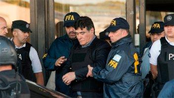 Zannini fue derivado al penal de Ezeiza para cumplir la prisión preventiva